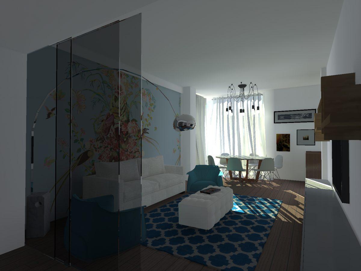 Appartamento ba marco d 39 andrea architecture interior for Appartamento interior design