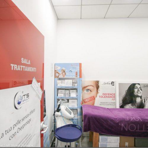 Progetto Farmacia Dettaglio Sala Trattamenti Porta Rossa