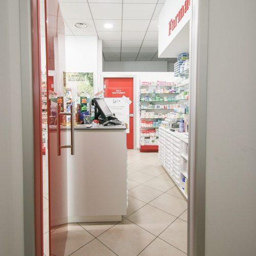 Progetto Farmacia Vista Porta Rossa Sala Autoanalisi E Bancone