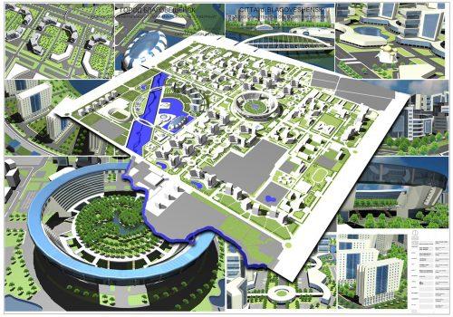 Blagoveshchensk (Russia) Masterplan